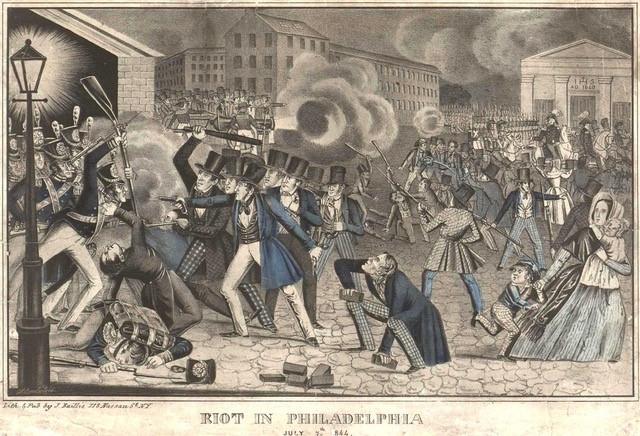 riot in phily