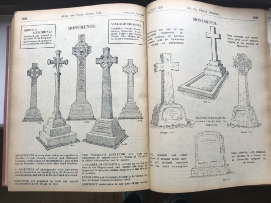 A selection of pages from the catalogue