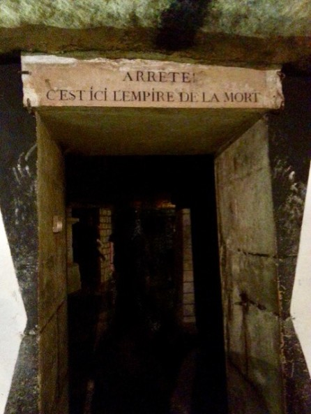 Catacombs, Paris - Photo by Karen Lee Street