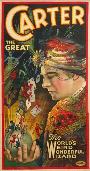 thumbnail_Victorian magician poster